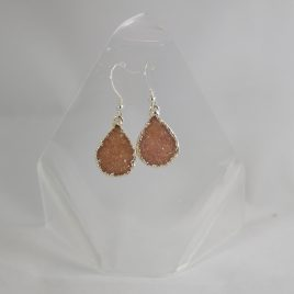 Druzy Quartz Earrings